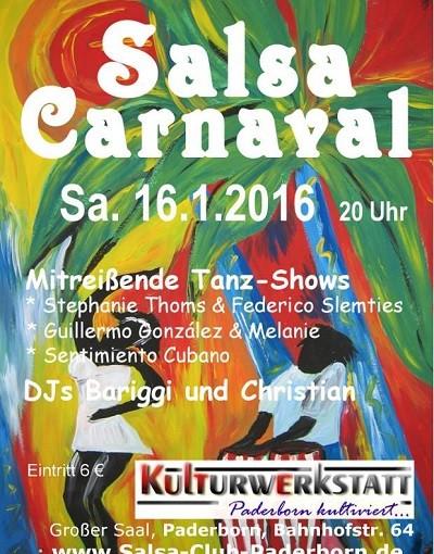 Salsa-Carnaval – Kulturwerkstatt Paderborn (16.01.2016)