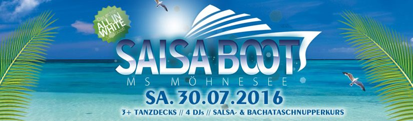 Salsaboot Möhnesee (30.07.2016)